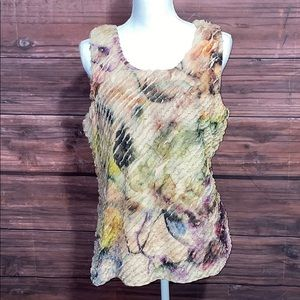 💥5/$25💥Coldwater Creek Abstract Print Tank